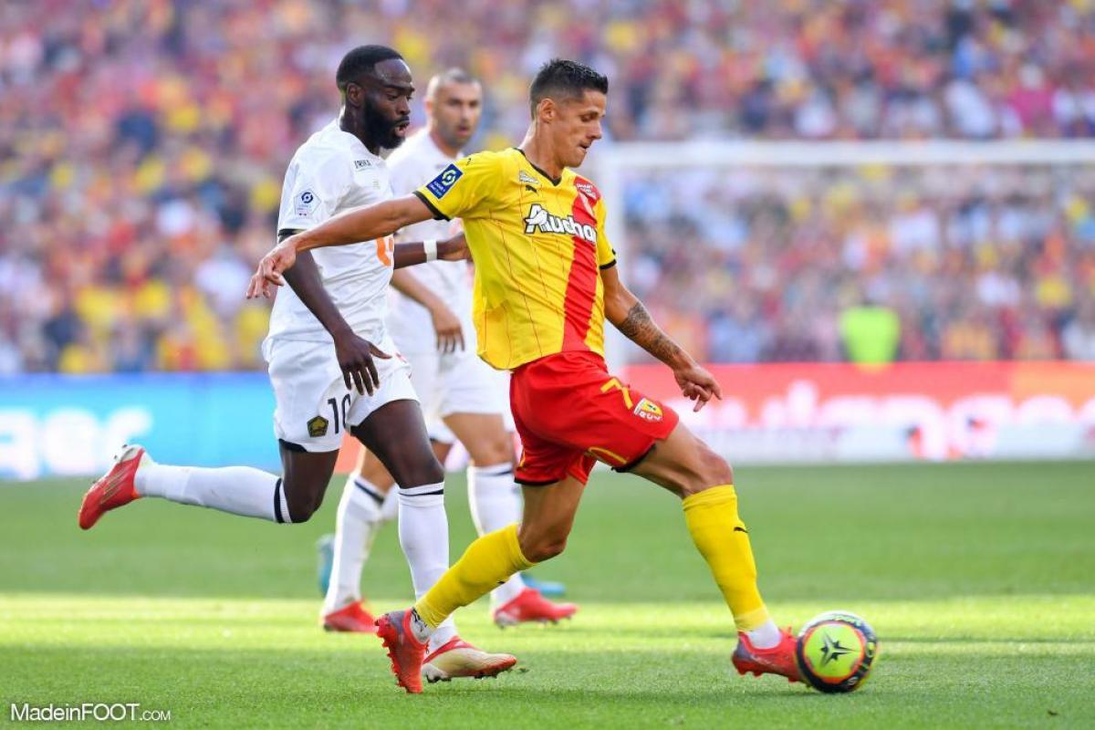 Le RC Lens et le Lille OSC sont dos à dos à la pause (0-0), lors de cette 6ème journée de Ligue 1.