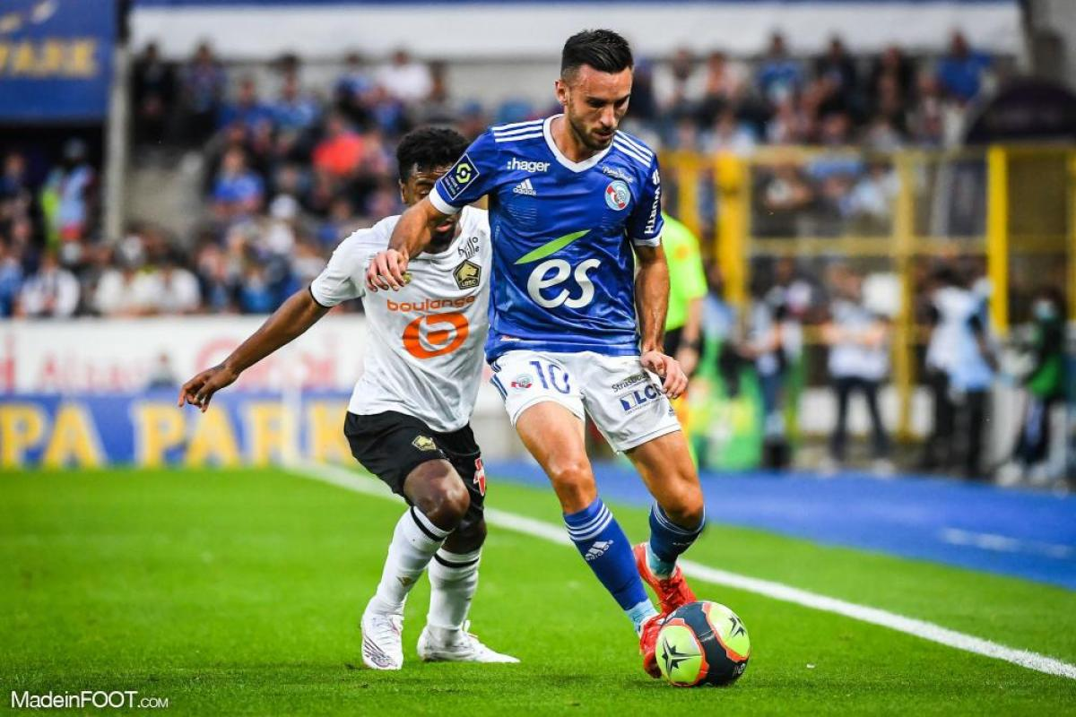 L'album photo du match entre le RC Strasbourg Alsace et le Lille OSC.