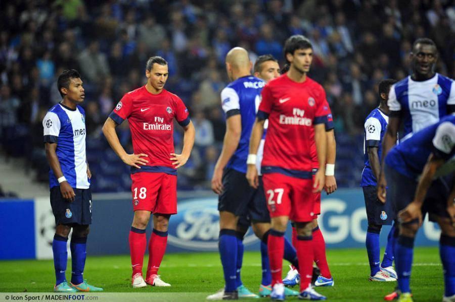 Le Paris Saint-Germain s'était incliné contre le FC Porto