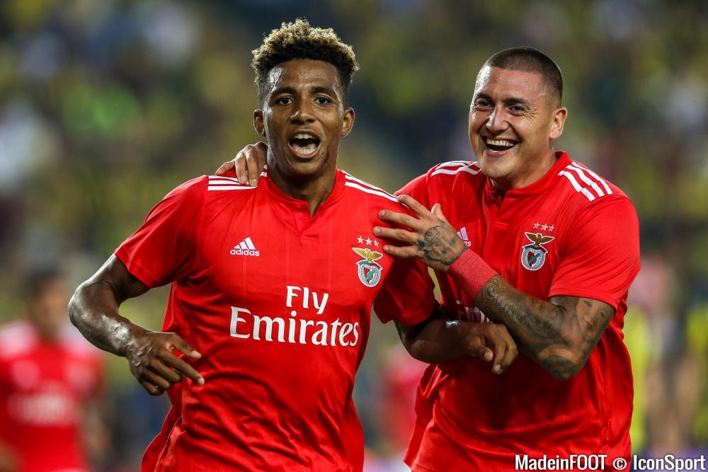Gedson Fernandes avec Benfica