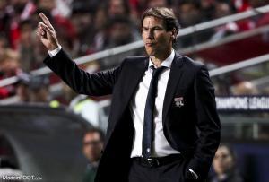 Rudi Garcia envoi un message à ses joueurs avant d'affronter Lille.