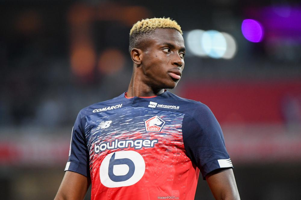 Victor Osimhen quitte le Lille OSC, direction le Napoli (Serie A).