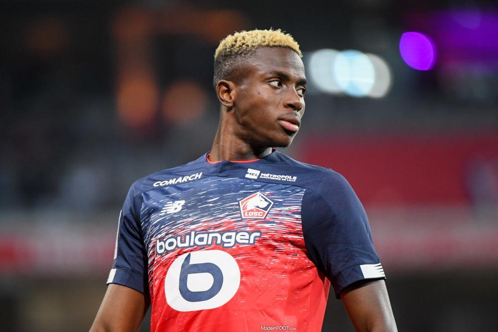 Osimhen et Ikoné sont parmi les joueurs les plus chers de L1.