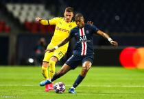 Kimpembe (PSG) et Thorgan Hazard (BVB)