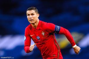 Ronaldo avec le Portugal