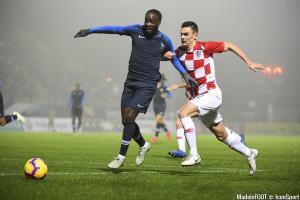 Jonathan Ikoné a rejoint l'équipe de France A.