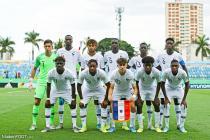 L'équipe de France U18 (Aouchiche, Zinga, Kouassi, Pembele, Mbuku, Rutter Lihadji, Agoumé, Sopppy, Matsima, Ahamada)